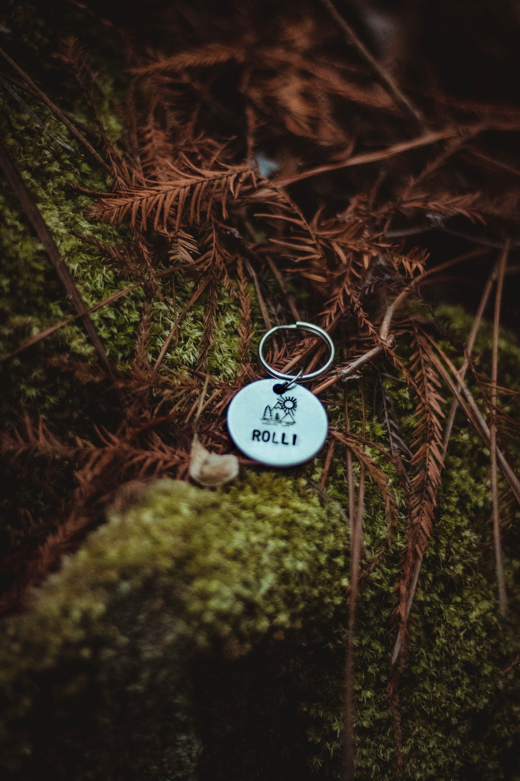 Mountaineer dog tag