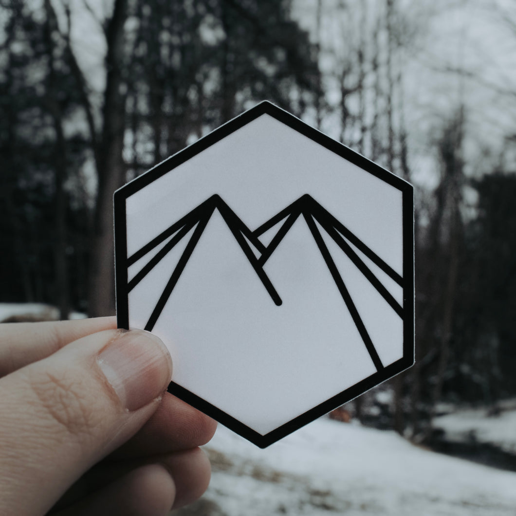 Hexagon Northern Hounds Sticker