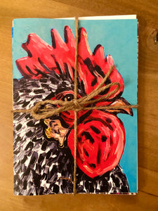 Assorted Greeting Cards #1 (Rooster Edition)