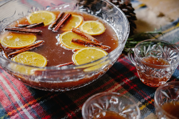 Pear + Ginger + Allspice Shrub Party Punch