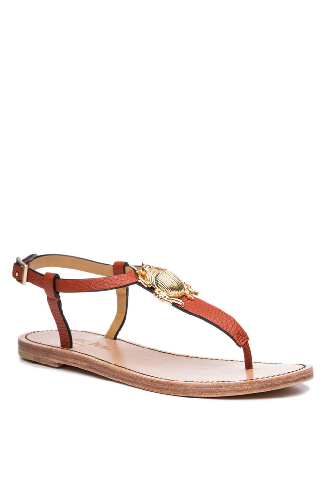 Principessa 1 Bug Sandal in Oxblood