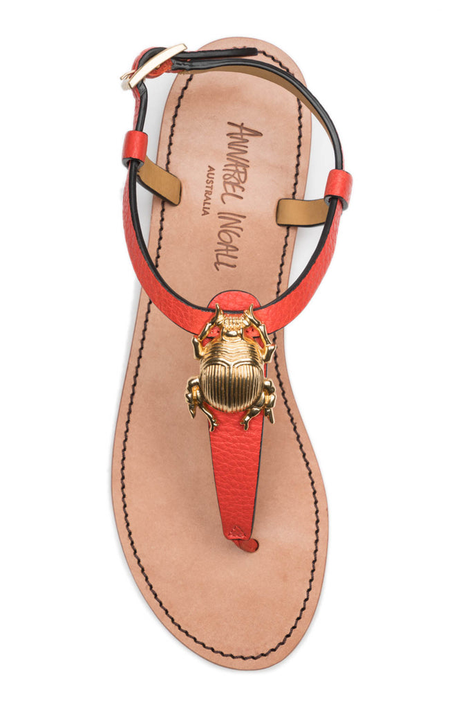 Principessa 1 Bug Sandal in Tea Rose