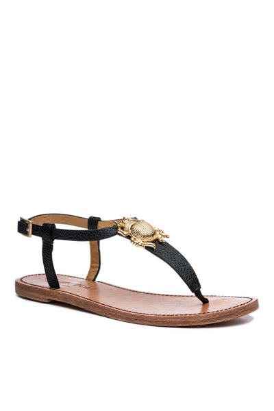 Principessa 1 Bug Sandal in Black