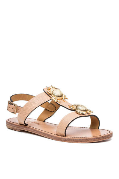 Contessa 2 Bug Sandal in Nude