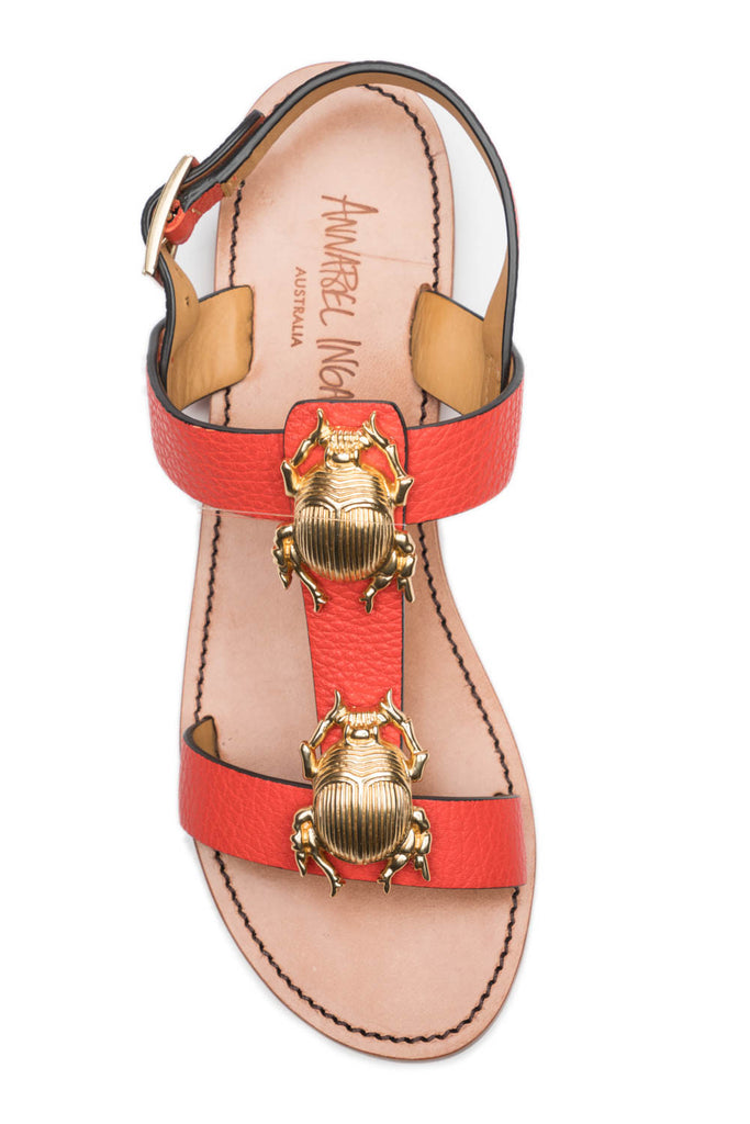 Contessa 2 Bug Sandal in Tea Rose