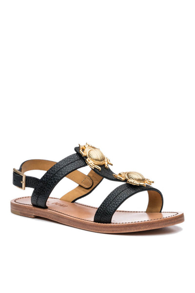 Contessa 2 Bug Sandal in Black