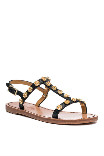 Daisy Sandal in Black