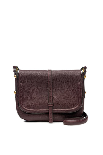 Allisyn Saddle Bag Bordo