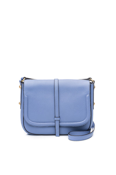 Allisyn Saddle Bag Periwinkle