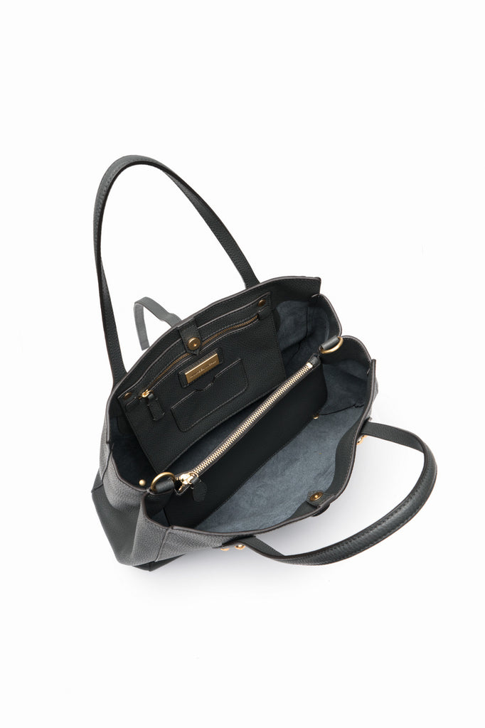 Billy Satchel Charcoal