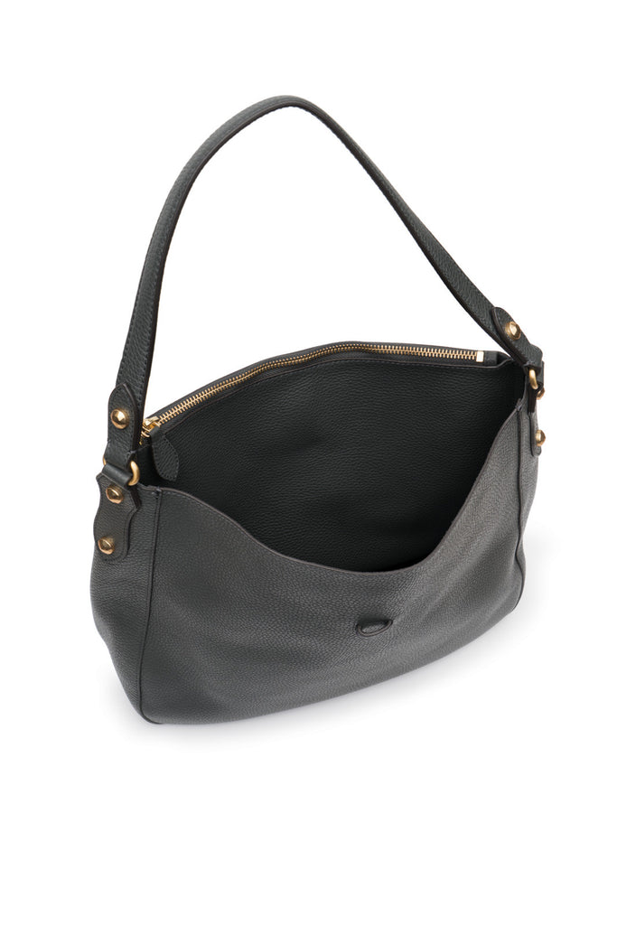 Brooke Hobo Charcoal