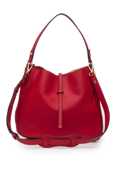 Brooke Hobo Crimson
