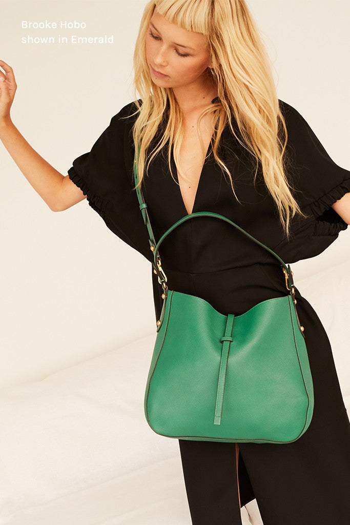 Brooke Hobo Emerald