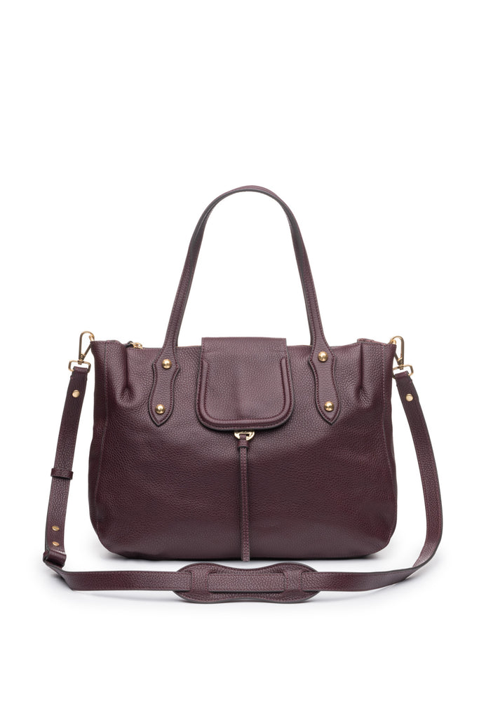 Camilla Satchel in Bordo