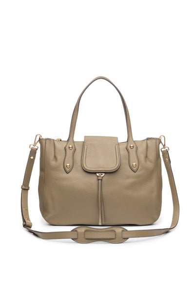 Camilla Satchel in Khaki