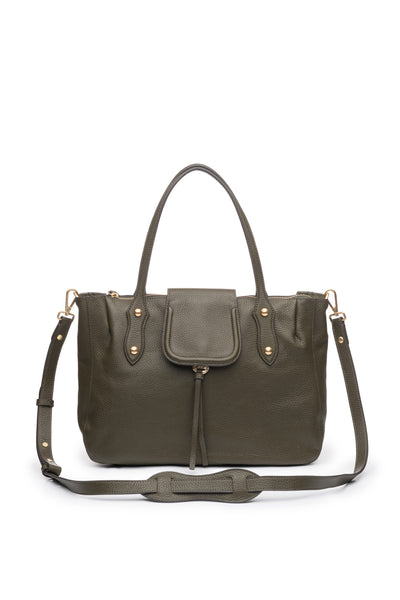 Camilla Satchel in Military