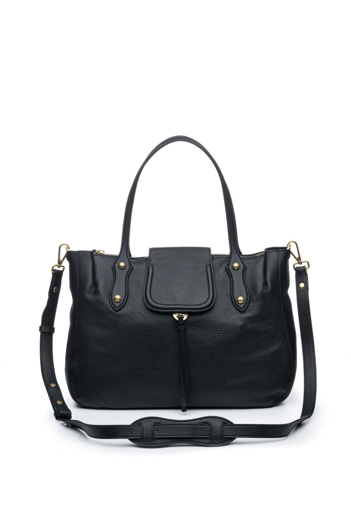 Camilla Satchel in Black