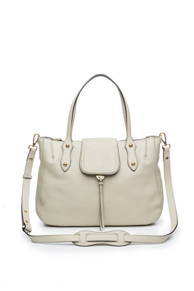 Camilla Satchel in Bone