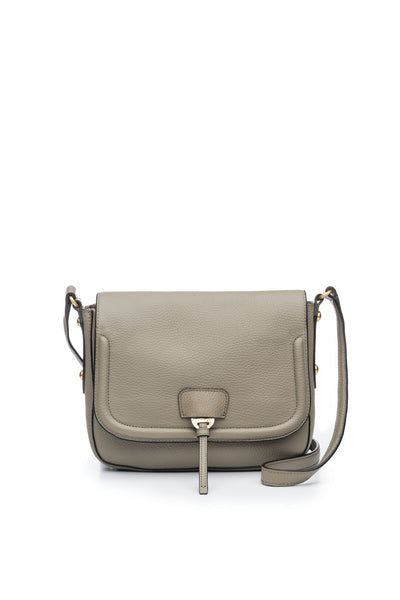 Camille Saddle Bag in Putty