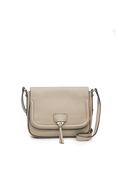Camille Saddle Bag in Stone