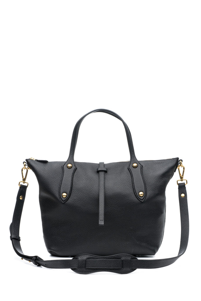 Large Cloudia Satchel Black