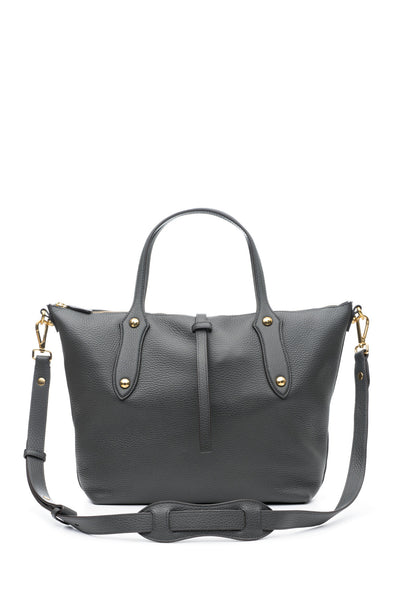 Large Cloudia Satchel Charcoal