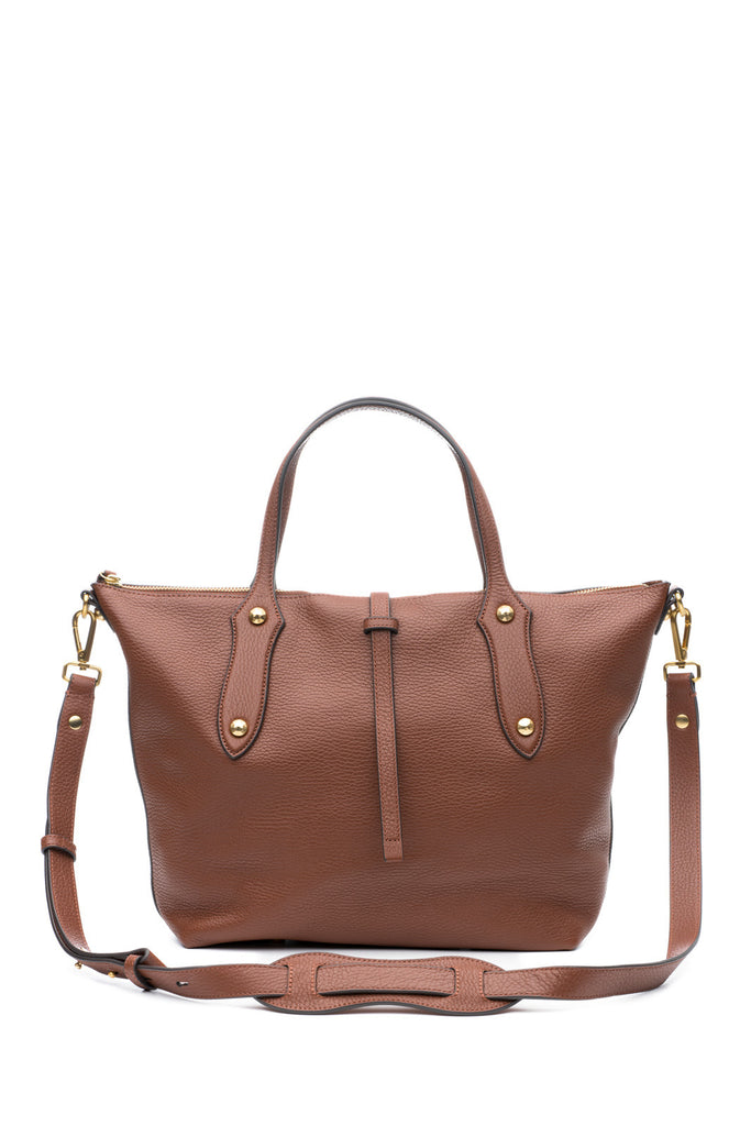 Large Cloudia Satchel Mahogany