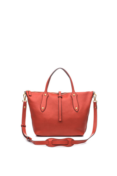 Large Cloudia Satchel Marsala