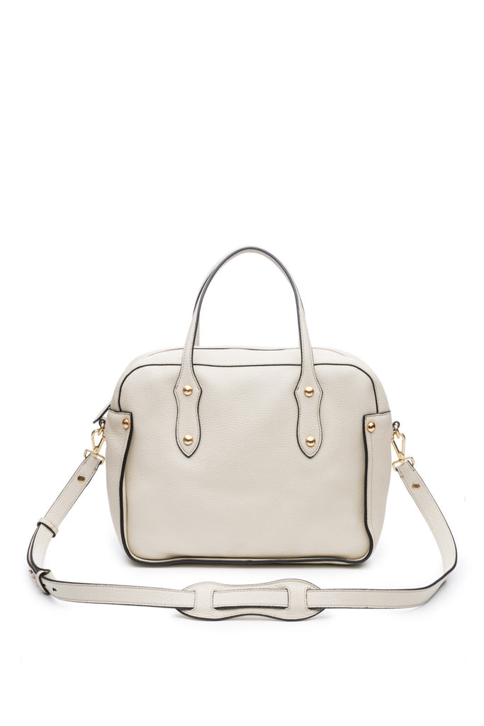 Clementine Satchel in Bone