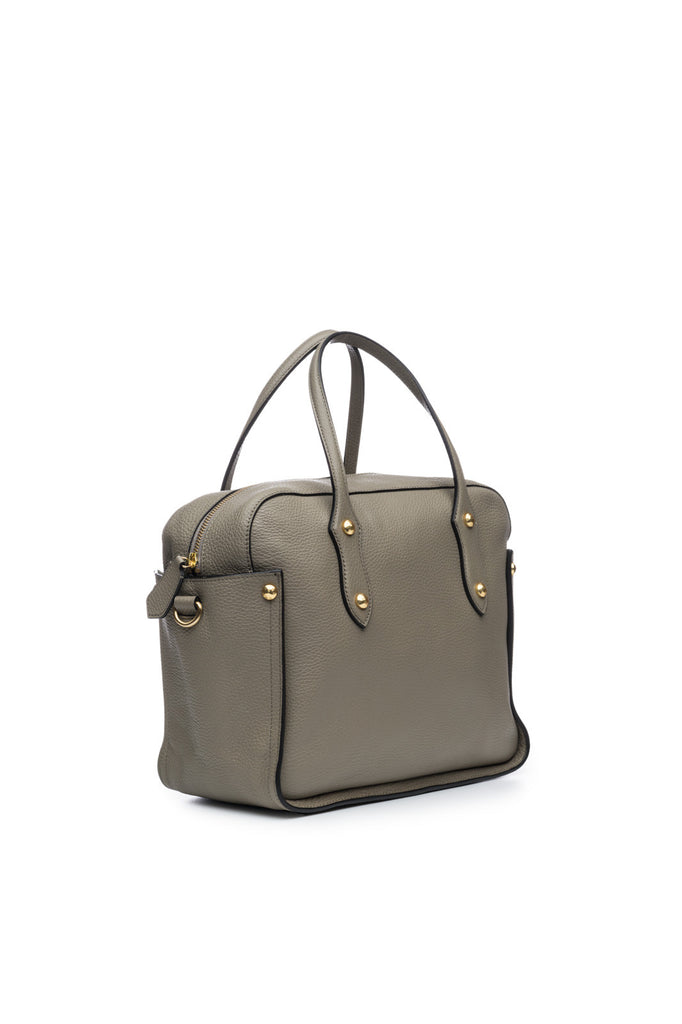 Clementine Satchel in Stone
