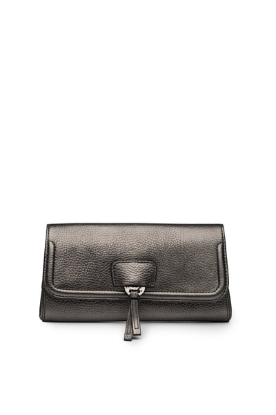 Collette Clutch in Anthracite