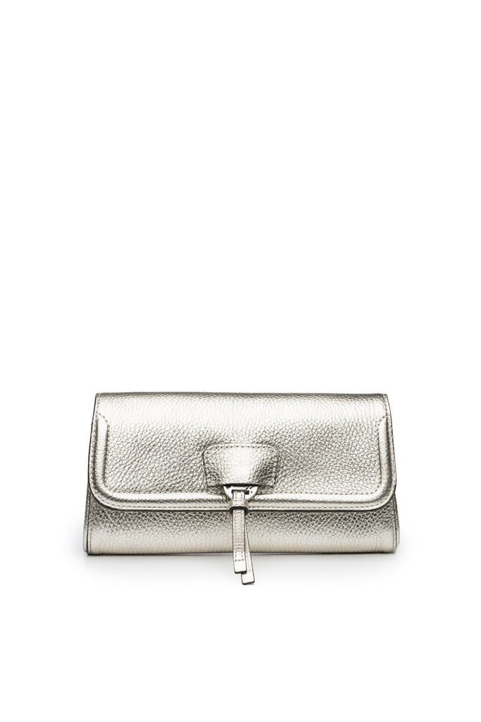 Collette Clutch in Silver