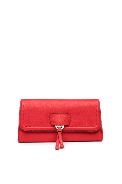 Collette Clutch in Ruby