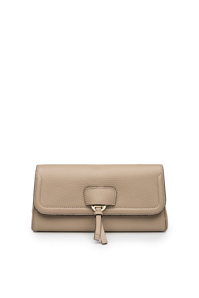 Collette Clutch in Stone