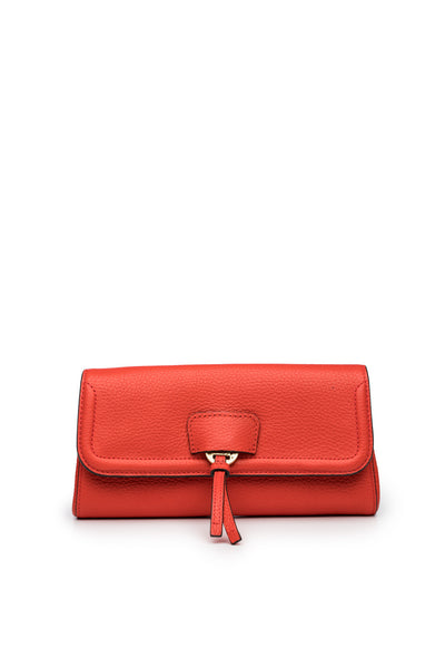 Collette Clutch in Tea Rose