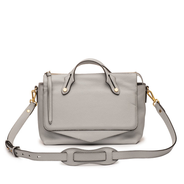 Franca Satchel Washed Denim