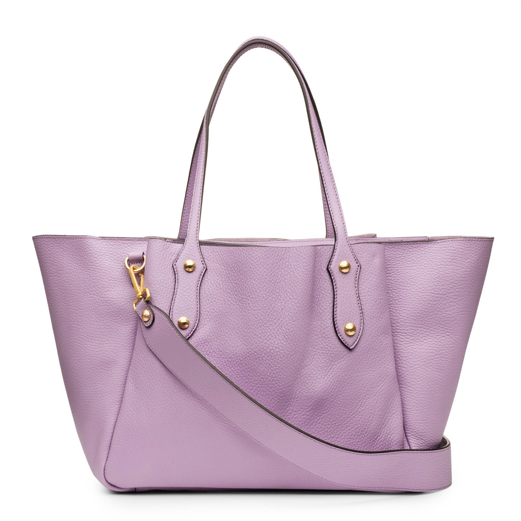 Francesca Tote in Lupin Lilac
