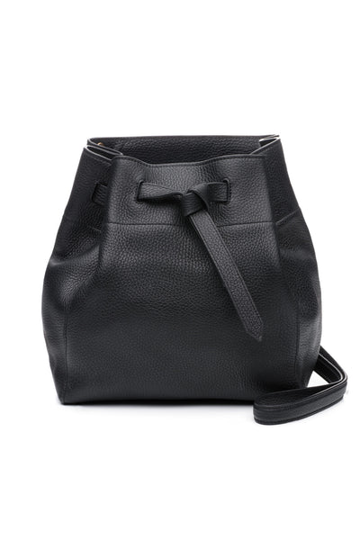 Medium Georgia Bucket Black