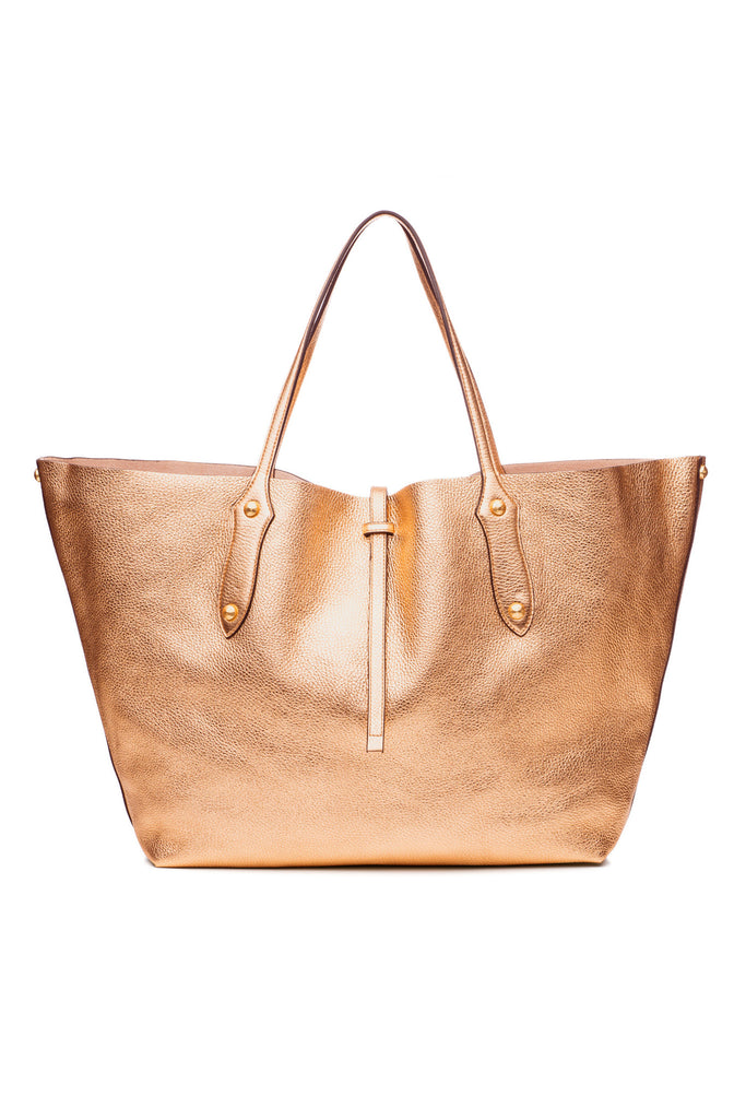 Large Isabella Tote Champagne