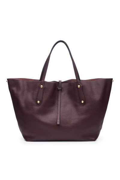 Large Isabella Tote Bordo