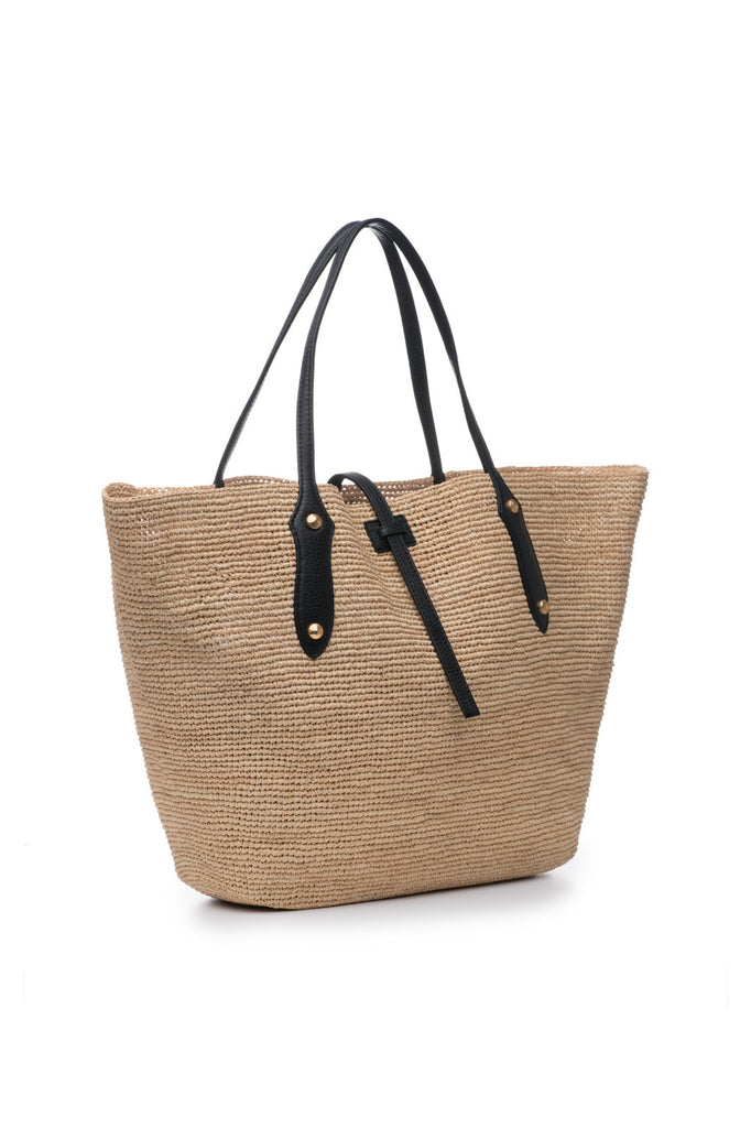 Large Sunny Bag Natural/Black