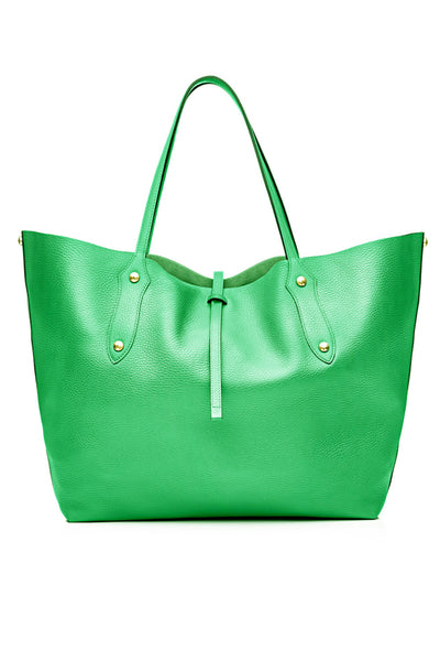 Large Isabella Tote Sea Green