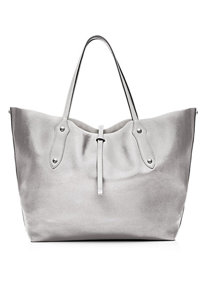 Large Isabella Tote Silver