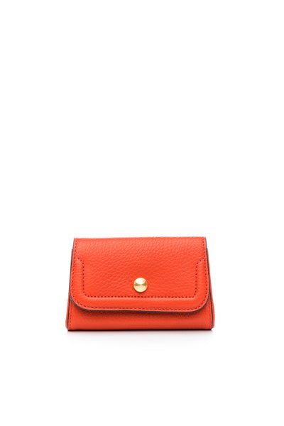 Mia Credit Card Holder Coral