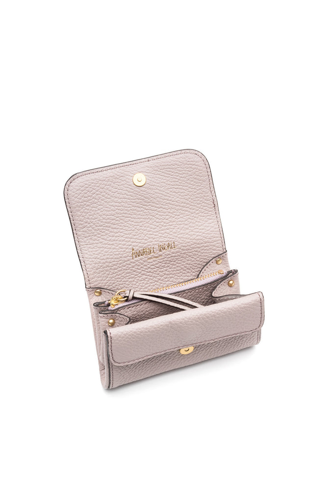 Mia Credit Card Holder Zinc