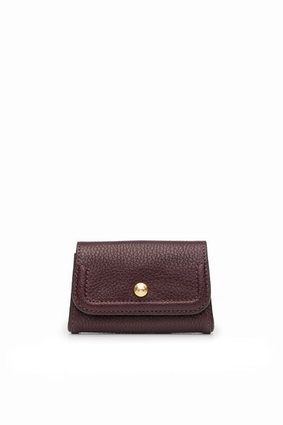 Mia Credit Card Holder Bordo