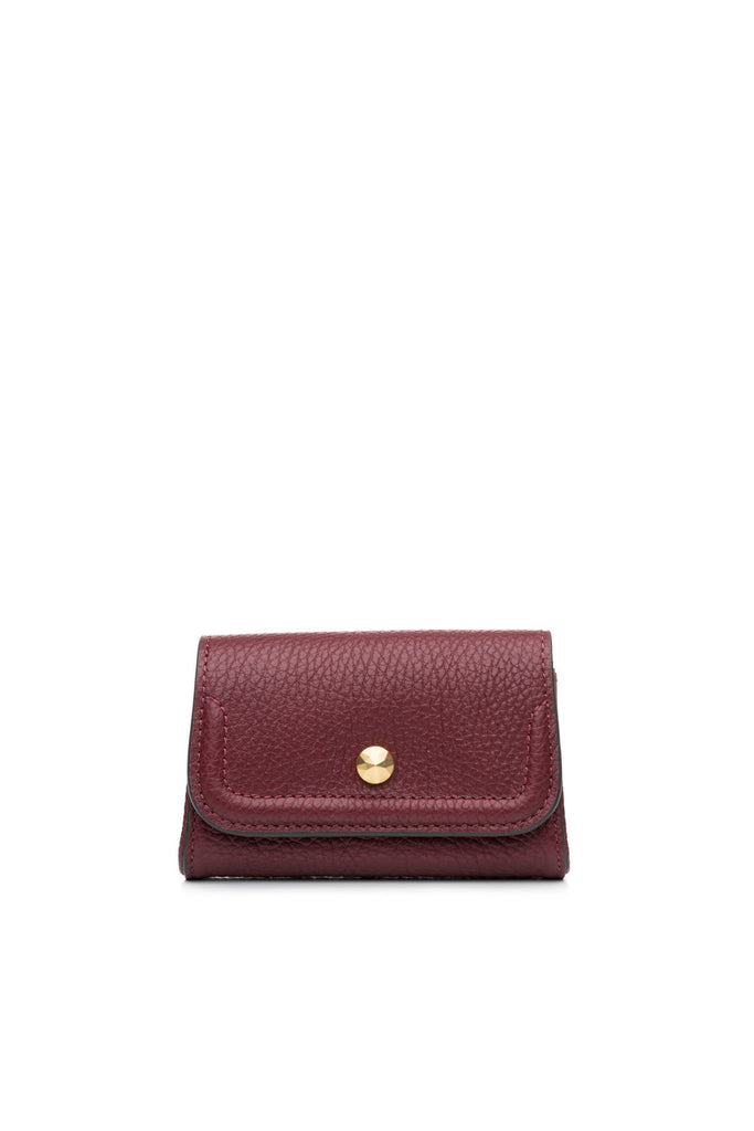 Mia Credit Card Holder Burgundy