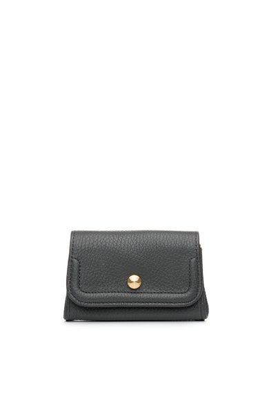 Mia Credit Card Holder Charcoal