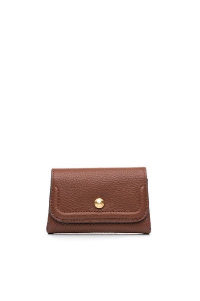 Mia Credit Card Holder Mahogany