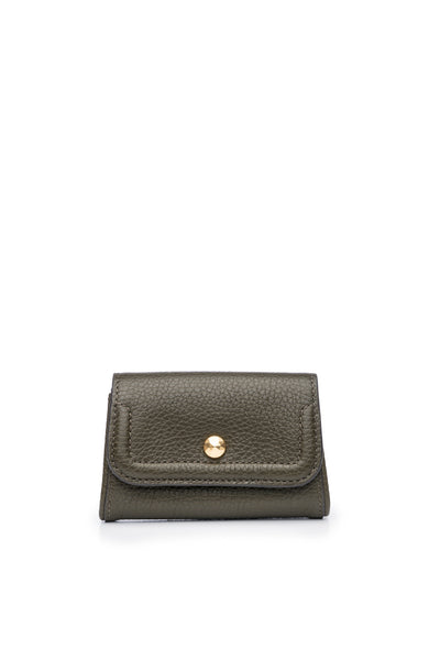 Mia Credit Card Holder Olive